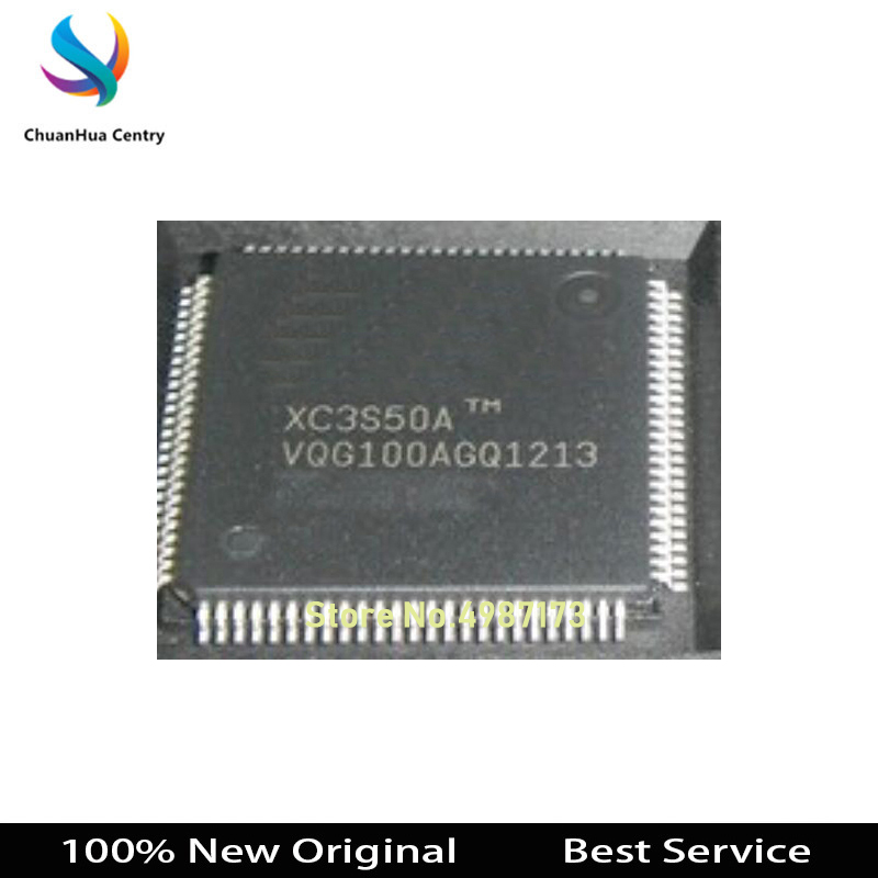 1 Pcs/lot XC3S50A-4VQG100C QFP144 100% New Original XC3S50A-4VQG100C In Stock Bigger Discount For The More Quantity