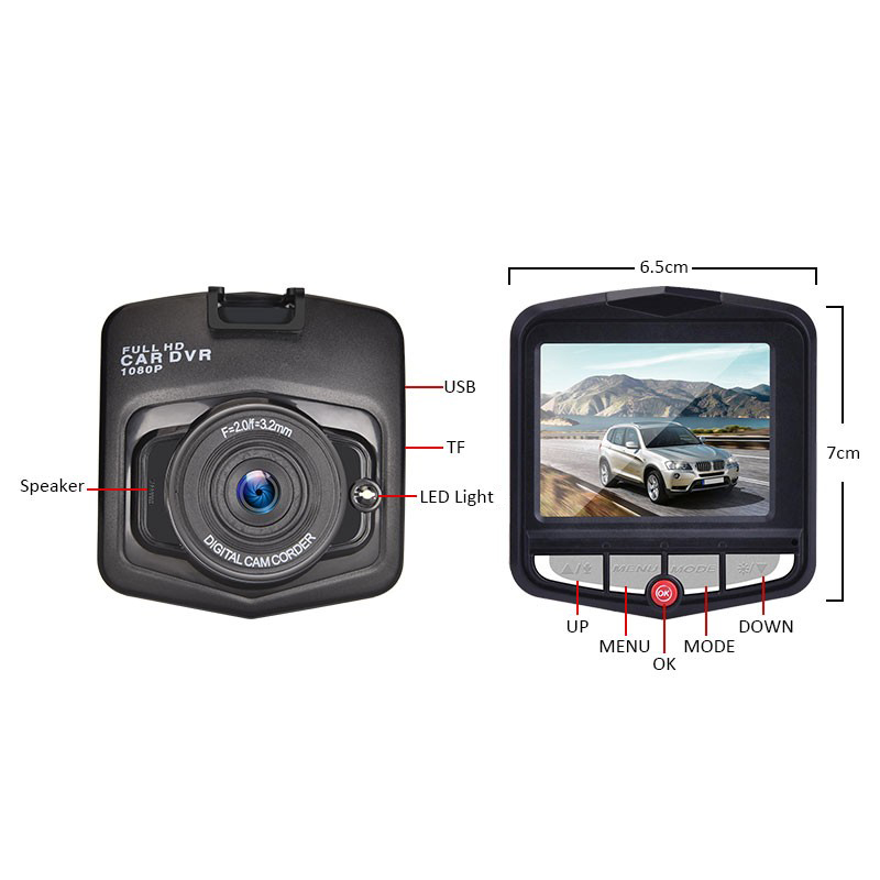 Creative Dash Cam HD Night Vision  4