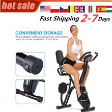 Time Speed Calories Display Spinning Bike Fitness Bicycle Cardio Trainer Fat Burning Lose Weight 120KG Load Indoor Exercise Bike