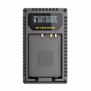 Image 2 - Nitecore FX1 Dual Slot USB Charger For Fujifilm NP W126 NP W126S Camera Battery X Pro1 X T1 XE1 XE2 XA1 XA2 XM1 HS30 X T2 X E2S