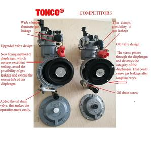 Image 4 - 170F Dual Fuel Carburetor for Gasoline Generator LPG NG Propane CONVERSION Hybrid 2.8KW GX200 +  Scarf as Gift, TONCO Brand