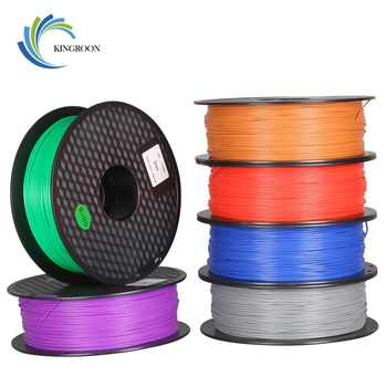 PLA 1.75mm Filament 1KG Printing Materials Colorful For 3D Printer Extruder Pen Rainbow Plastic Accessories Black White Red Gray - Category 🛒 Computer & Office