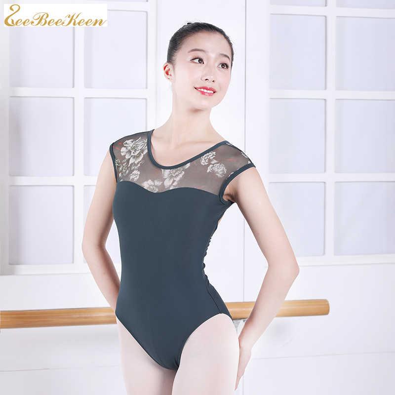 บัลเล่ต์ Leotards เต้นรำสวมใส่ผู้หญิงยิมนาสติก leotards ผู้ใหญ่บัลเล่ต์การออกกำลังกายเสื้อผ้าเสื้อผ้าโยคะอากาศ Ballerina