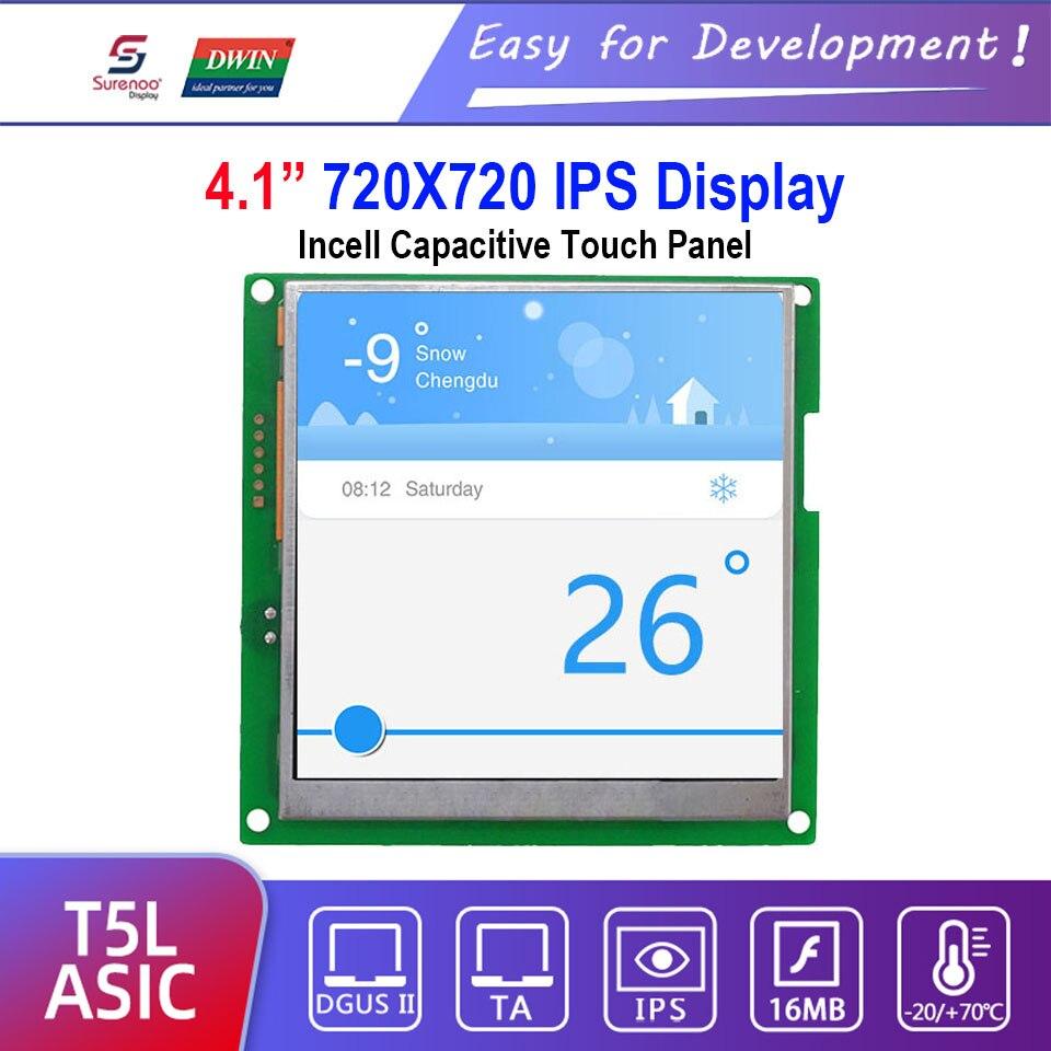 Dwin T5L HMI Intelligent Display, DMG72720C041_03W 4.1