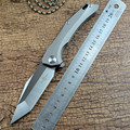 TS43 TWOSUN S90V Blade Knives Survival Titanium Handle Knife For Gift Hunting Fishing Camping Outdoor Knives