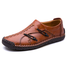 Men Casual Shoes Fashion Man Loafers Shoes Soft Moccasins Flats Hasp Driving Shoes High Quality Leather for Men Big Size 38-48 цена и фото