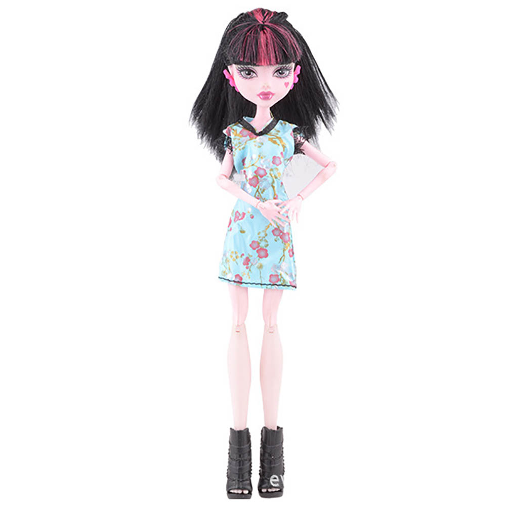 30cm Genius Toys Dolls Dress Fashion Costume Suit Clothes Accessories For 1/6 Monster Doll Toy Girl Gift