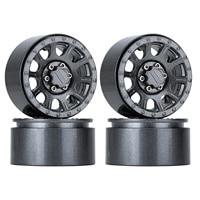 "INJORA 249g/pcs Heavy 2.2"" Beadlock Metal Wheel Rim for 1/10 RC Crawler Car Axial SCX10 90046 Wraith RR10 Traxxas TRX-6 2"
