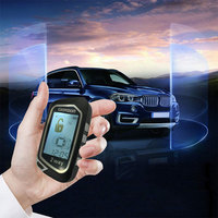 LCD kontrol uzaktan başlatma ve anahtarsız giriş sistemi araba alarm ışığı otomatik bagaj açma starline a93 брелок başlangıç motor araba