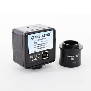 Image 4 - Angeleyes 2.0mp electronic eyepiece CMOS  500W color telescope electronic eyepiece USB connection computer full frame HD camera