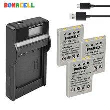 Bonacell EN-EL5 for NikON Camera Battery + LCD Charger for Nikon Coolpix P4 P80 P90 P100 P500 P510 P520 P530 P5000 P5100 5200 стоимость