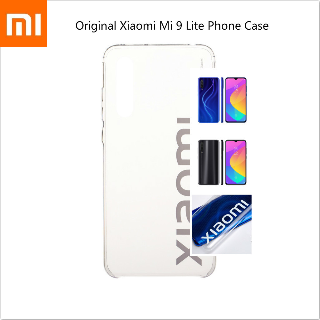 "Original Xiaomi Mi 9 Lite High Transparent  Shell Xiomi Protective Back Case Mobile Phone Case For Xiomi Mi 9 Lite 6.39"" 48MP"