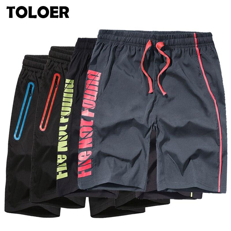 Summer New Men''s Shorts Elastic Waist Jogger Casual Beach Shorts Male Board Shorts Mens Brand Quick Drying Bermuda Sweatpants