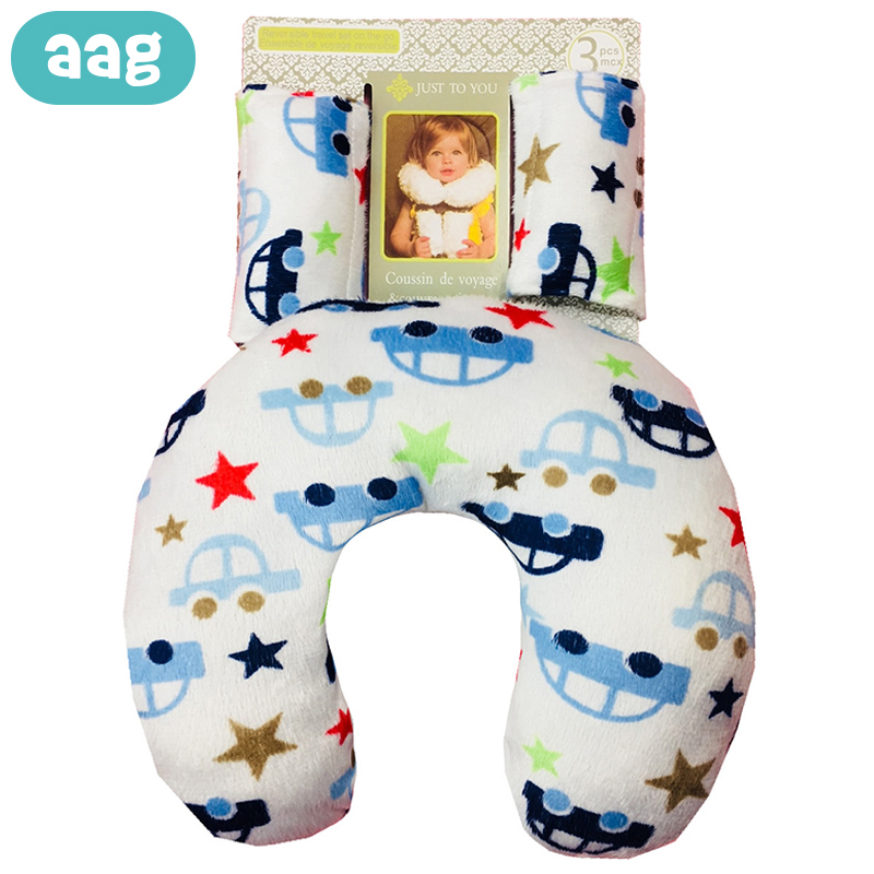 AAG U Shape Baby Pillow Child Travel Pillows Sleeping Neck Support Protector Baby Shaping Styling Pillows Cushion Positioner