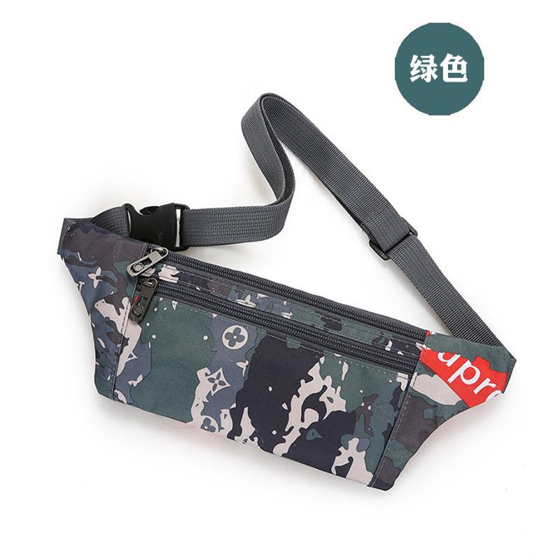 Outdoor Sports Waist Pack Men's Multi-functional Tactical Camouflage Wallet Mobile Phone Fashion Wallet Shoulder Bag Women's