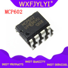 2PCS MCP602-I/P DIP8 MCP602 DIP DIP8 2.7V to 5.5V Single Supply CMOS Op Amps