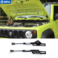 MOPAI Chromium Styling Car Front Hood Engine Support Hydraulic Rod Lift Strut Spring Shock Bars Bracket for Suzuki Jimny 2019+