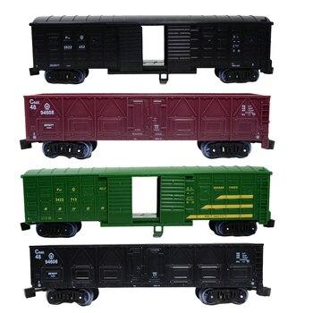 187 Ho pociąg Wagon samochód towarowy Model zabawkowy układ kolejowy krajobraz
