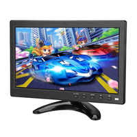 1920x1200 IPS 10.1 LCD HD touch screen monitor Computer PC Screen 2 Channel Video In Security Monitor With Speaker HDMI VGA USB