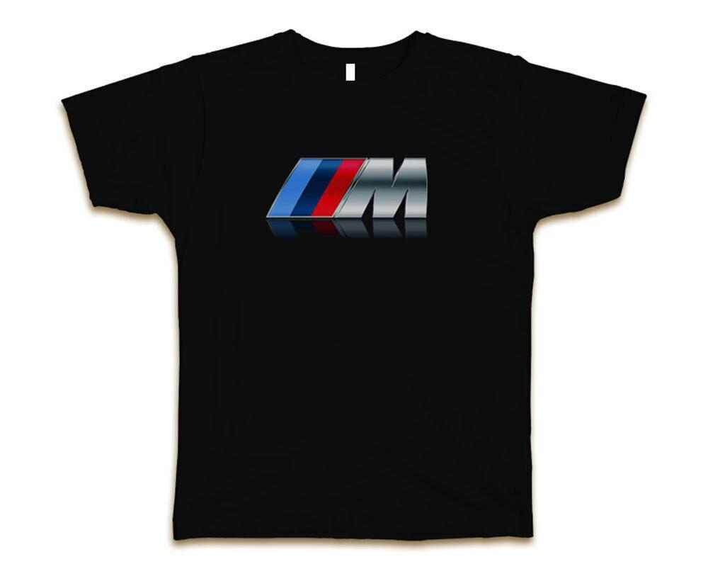 BMW Power Custom Mens Fashion T-Shirt Tee S-3XL New-Black
