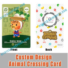 Daisy Mae Orville Flick Raymond Animal Crossing Card No NFC Function, Can Not Work in Switch 3DS Games, Collection Purpose Only(China)