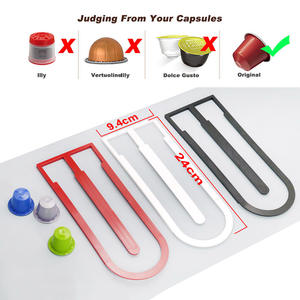 Stand Capsule Dispenser Storage-Rack Pod-Holder Coffee Home Kitchen 10pcs for Suitable