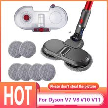 For Dyson V7 V8 V10 V11 Electric Mop Head Parts Vacuum Cleaner Electric Floor Brush Head Water Tank Cleaning Cloth Accessories
