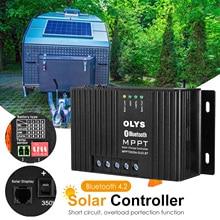25A Solar Charge Controller Solar Panel Controller With Dual USB Solar Regulator 12V MPPT Auto Paremeter Adjustable
