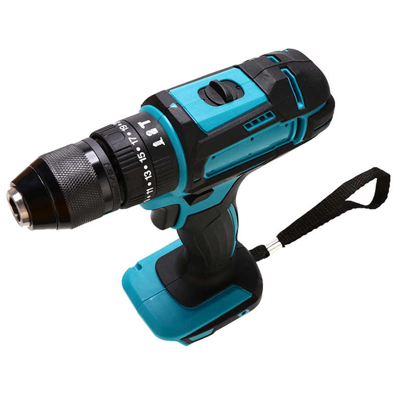 Tools : 18V 3 in 1 Electric Cordless Impact Drill 13mm Rechargable Electric Screwdriver Drill For Makita Battery Power Tool