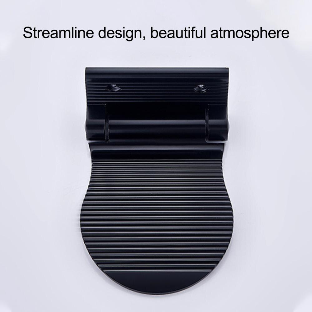 Душ для ног ванная комната педалей нескользящая душ подножие постамента педали пожилые беременные баня табурет черный