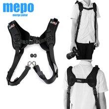 Two Shoulder Camera Strap for DSLR Digital SLR Camera Canon Nikon Sonys Quick Rapid camera accessories Neck Strap Belt