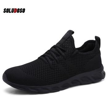 цена Hot Sale Light Running Shoes Comfortable Casual Men's Sneaker Breathable Non-slip Wear-resistant Outdoor Walking Men Sport Shoes онлайн в 2017 году