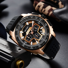 Chronograph Men Sport Watch Fashion Silicone Army Military Watches Relogio Masculino Quartz Wrist Watch Clock Men stylish gimto sport watch men black steel male watches student boy military quartz wrist watch clock casual relogio montre gift