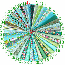 Random 5 pcs/lots 20x30cm Flower Pattern Square 100%Cotton Twill Fabric Bundle Sewing Quilting Crafts for Handmade