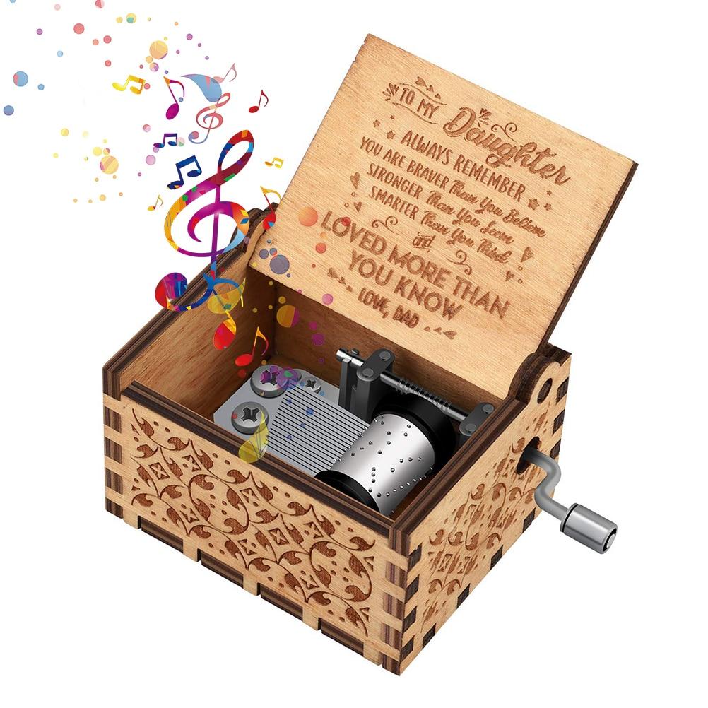 La Casa de Papel melodia Caja de musica Tallada en madera