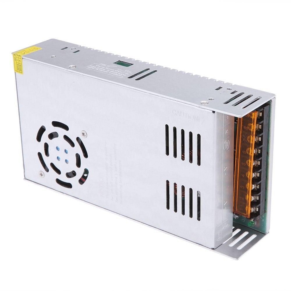 12 В, 30 А, 360 Вт, переключатель источника питания для светодиодного индикатора, 110-220 В переменного тока
