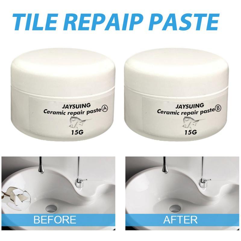 Tile Cracks Repairing SuperPaste