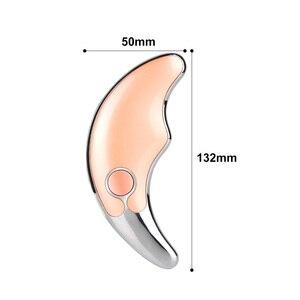 Image 4 - Twarzy szyi Guasha urządzenie do masażu do usuwania zmarszczek na twarzy urządzenie wyszczuplający masażer do ciała elektryczny masaż skóry narzędzie do masażu