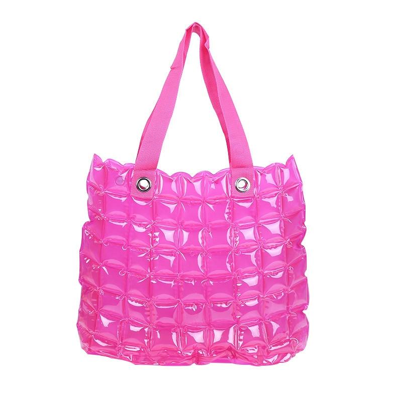 PVC Swimming Bag Gym Tote Handbags Clear Beach Pool Swim Storage Bags For Women Tavel Waterproof Bag