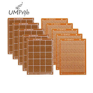 Circuit-Board Experiment Diy-Kit Matrix Prototype-Paper Universal Copper 10pcs PCB 5x7cm