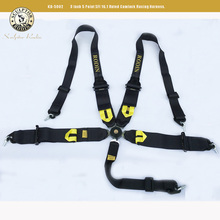 3 Inch 5 point  Car Auto Racing Sport Seat Belt Safety  Racing Harness 2+3 aluminum buckle 5 point authentication