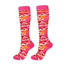 1 Pair Unisex Sports Compression Socks For Running Hiking Varicose Veins Basketball Footwear High Stocking For Workers EU 35-46