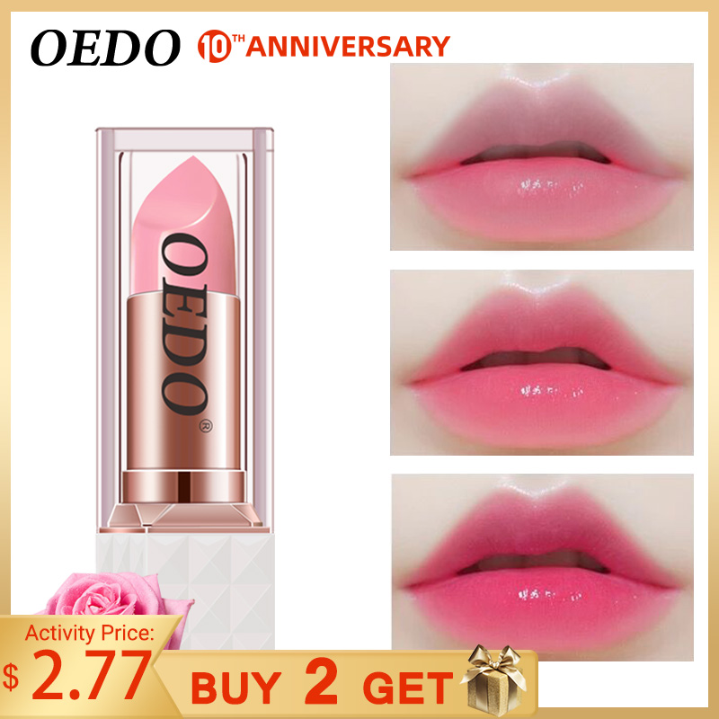 Rose Peptide Nourishing Colorful Lip Balm Anti Aging Antifreeze Anti-chapped Makeup Face Skin Care Repair Damage Lip Moist Cream