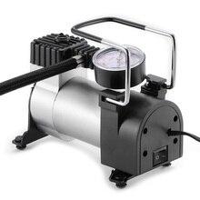 Onever bomba portátil para pneus de 150psi, 12v, inflador automático de pneus, compressor de ar com cigarro, universal, para carros, bicicletas