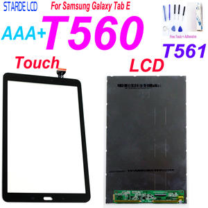 New For Samsung Galaxy Tab E SM-T560 T560 T561 LCD Display With Touch Screen Panel Digitizer