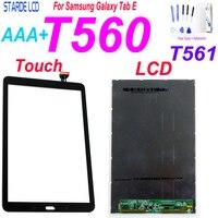 Tela lcd samsung galaxy tab e SM-T560 t560 t561  display com painel de toque e digitalizador