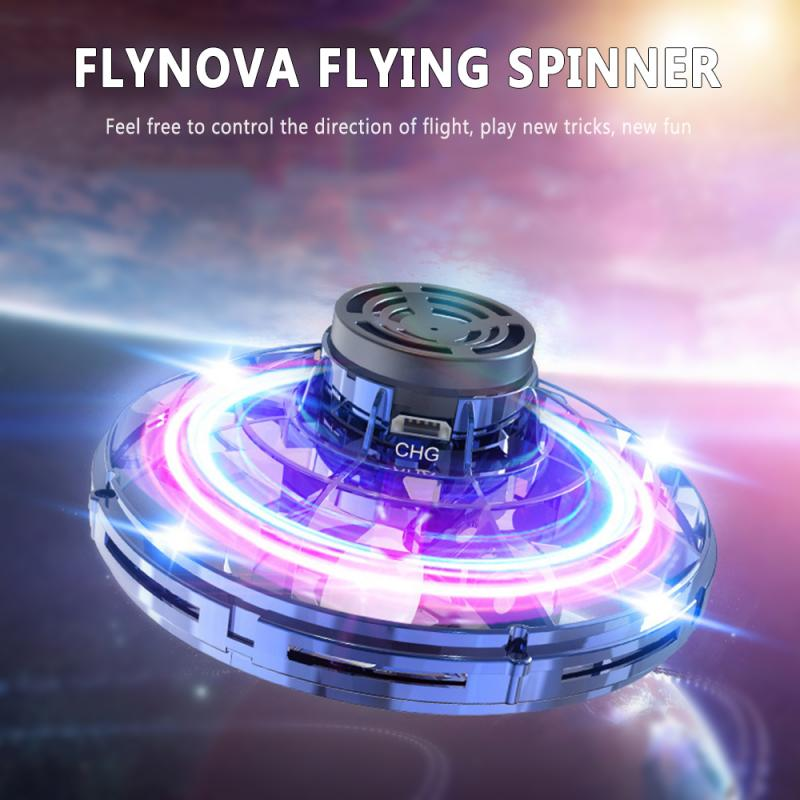 Flynova Fly Helicopter Mini Drone UFO RC Drone Infraed Induction Aircraft Quadcopter Upgrade RC Toys For Kids,Children,Adult Toy