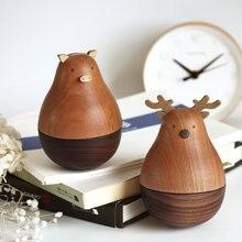 Европейские креативные Мультяшные деревянные изделия ручной