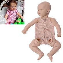 Reborn boneca diy 20 Polegada 51cm maddie kit em branco realista corpo de tecido recém nascido diy reborn bebe peças kit sem pintura