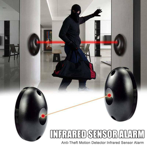 Anti-Theft Motion Detector Infrared Sensor Alarm Security for Home Office Warehouse LHB99